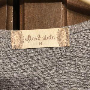 Altar'd State Other - ALTARD STATE LONG SLEEVELESS VEST